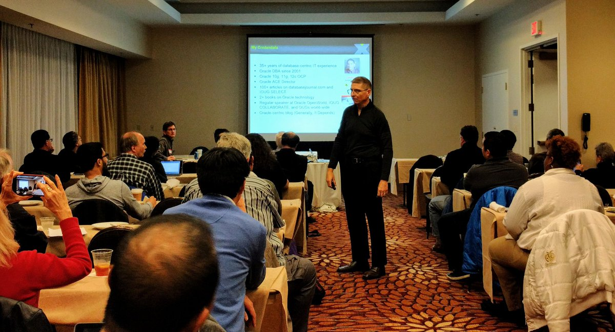 Chicago Oracle Users Group Meeting February 23rd 2017 – Recap - Hey